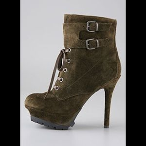 Sam Edelman Vancouver Leather Heeled Booties